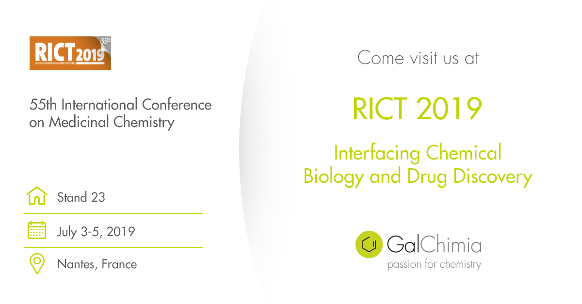 GalChimia will be at RICT 2019 in Nantes