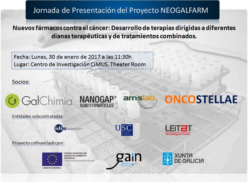 Jornada de presentación del Proyecto Neogalfarm