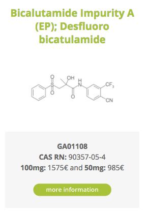 Bicalutamide Impurity A (EP); Desfluoro bicatulamide