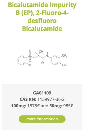 Bicalutamide Impurity B (EP), 2-Fluoro-4-desfluoro Bicalutamide