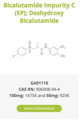 Bicalutamide Impurity C (EP); Deshydroxy Bicalutamide