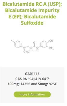 Bicalutamide RC A (USP); Bicalutamide Impurity E (EP); Bicalutamide Sulfoxide
