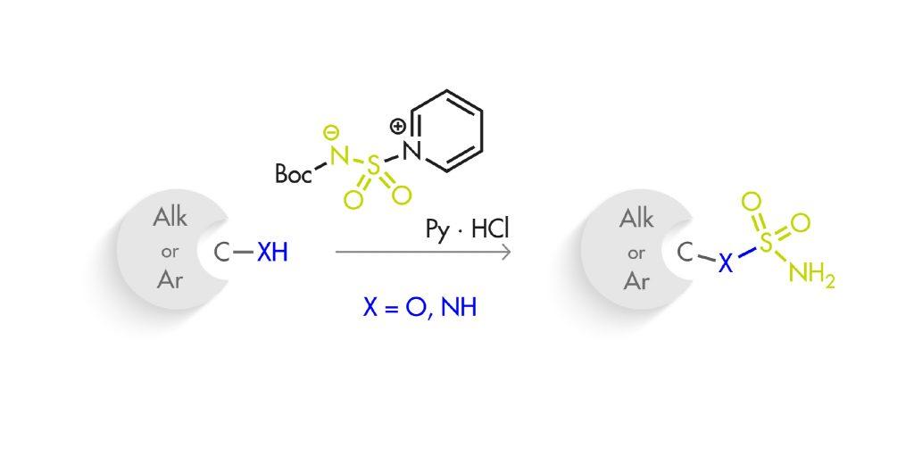 A selective sulfamoylation agent