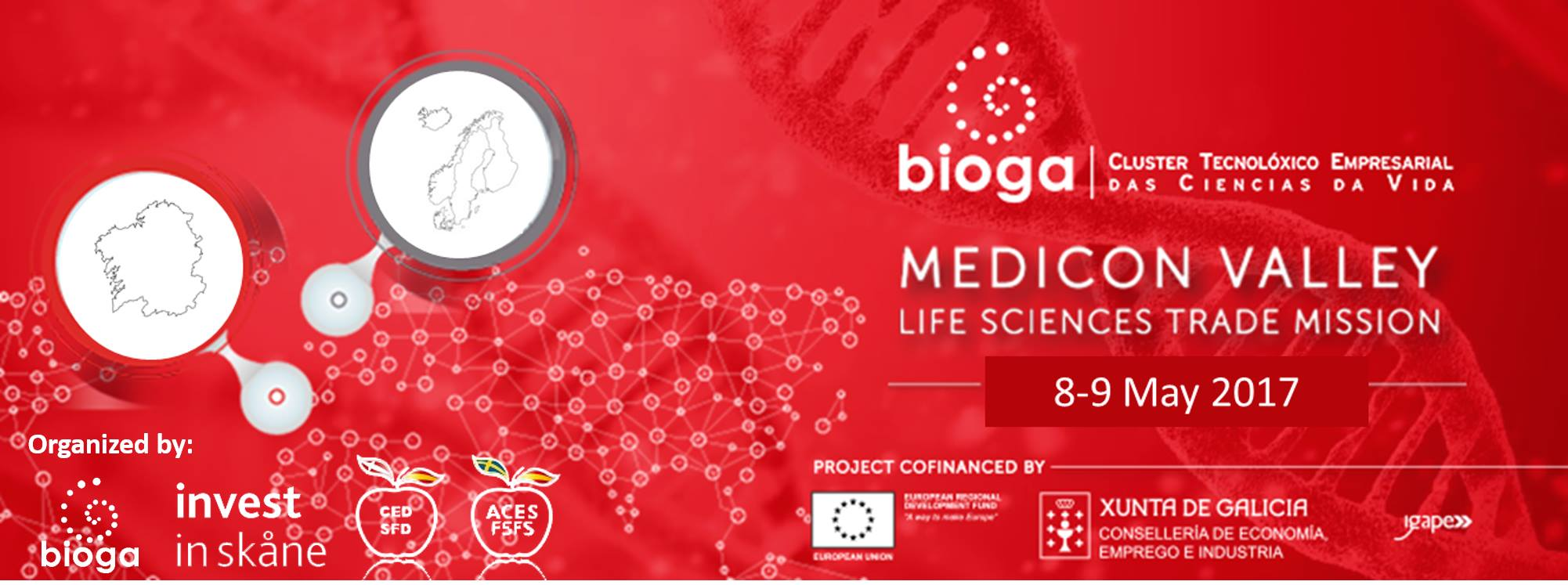 Galchimia participes in a trade mission to Denmark with Bioga