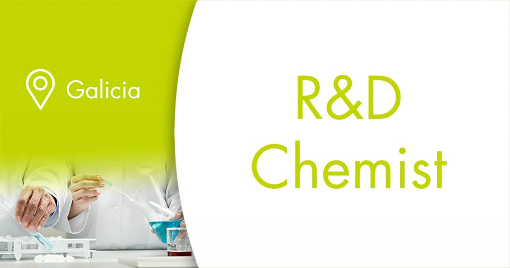 Oferta de empleo R&D Chemist