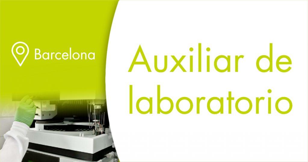 oferta de empleo galchimia auxiliar de laboratorio